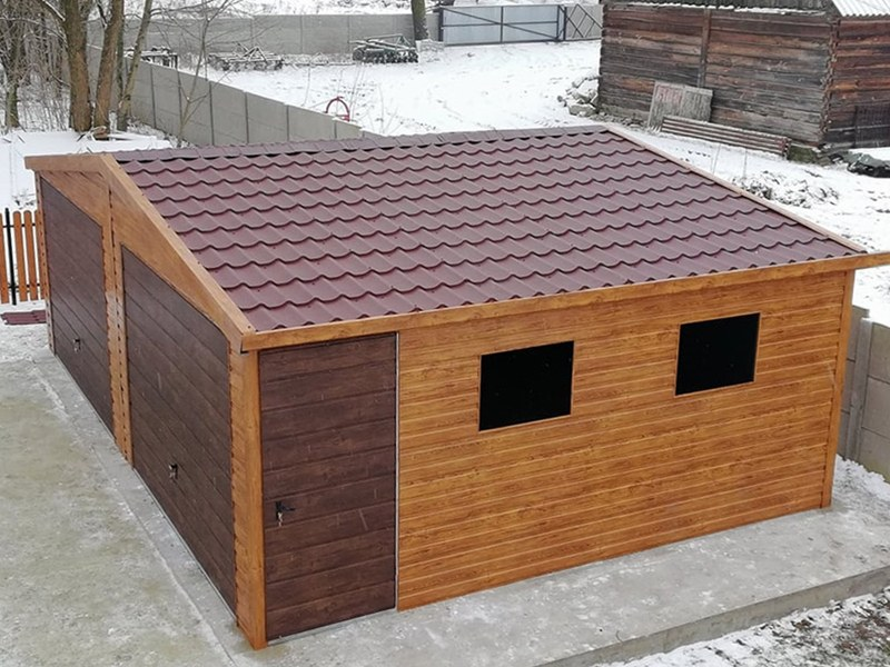 7 x 5 sedlová strecha EXTRALINE
